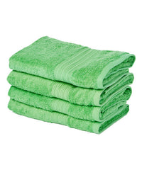 lime green large hand towel