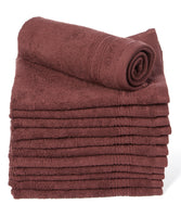 Goza Towels Luxury Cotton Wash Cloths, (12-Pack, 13 x 13 inches) - Gozatowels