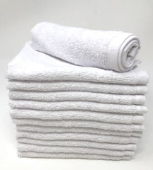 white washcloth