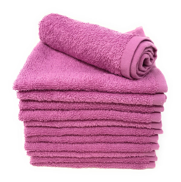 Goza Towels Luxury Cotton WashCloths (12 Pack, 12 x 12 inch) - Gozatowels