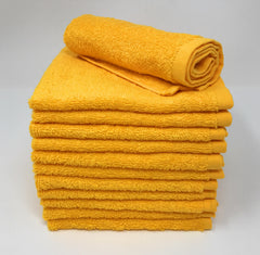yellow wash cloths