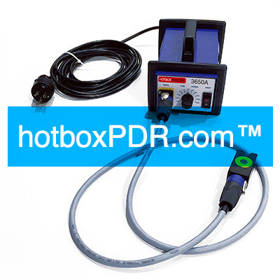 A-PDR-01-3650EC-2P - T-Hotbox fully upgraded w/ 2 pens & 2 cables -  kit (230v/50hz) electronic dent repair - all sales final - FREE SHIPPING!