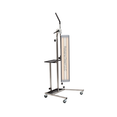 B-PDR-01-36PDRLED - 36 inch PDR LED light on a stainless steel mobile stand
