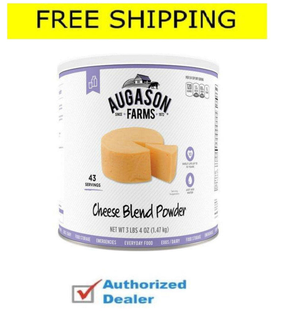 Augason Farms' Food Storage Cheese Blend Powder 3-Pack, Free shipping