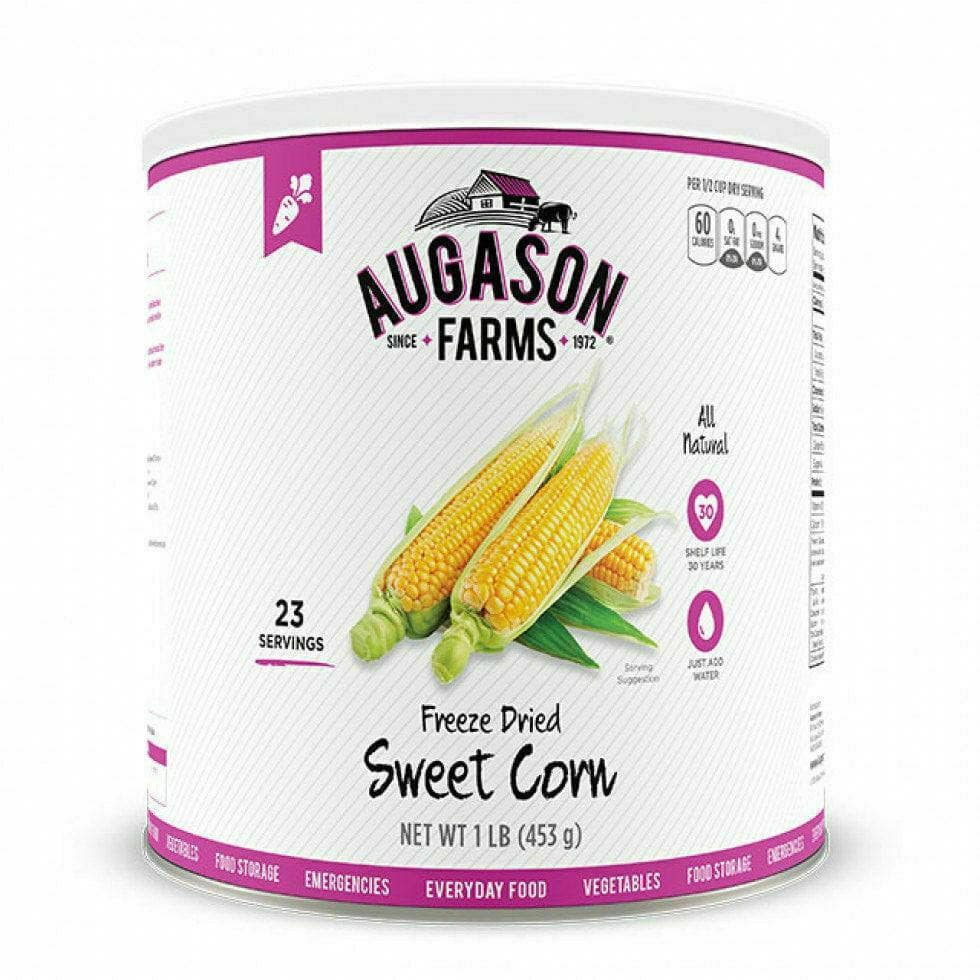 Augason Farms, Food Freeze Dried Sweet Corn Emergency Disaster Survival 1 can