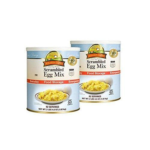 Augason Farms Food Storage Dried Scrambled Egg Mix - 2 pk