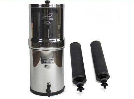Berkey Water Filters Berkey Imperial Water Filter System with 2 Black Berkey Filters, Brand New