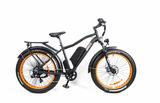 Breeze Fat Tire , Electric Mountain Bike 500W, 48V, 10.4Ah, Mozo Shock Absorber
