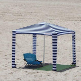 Cool Cabanas Cool Cabanas UPF 50 cotton poly canvas,50+ UV protection, 8 pocket,Navy Color