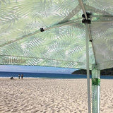 Cool Cabanas UPF 50 cotton poly canvas - Under The Palms - NEWLY LAUNCHED