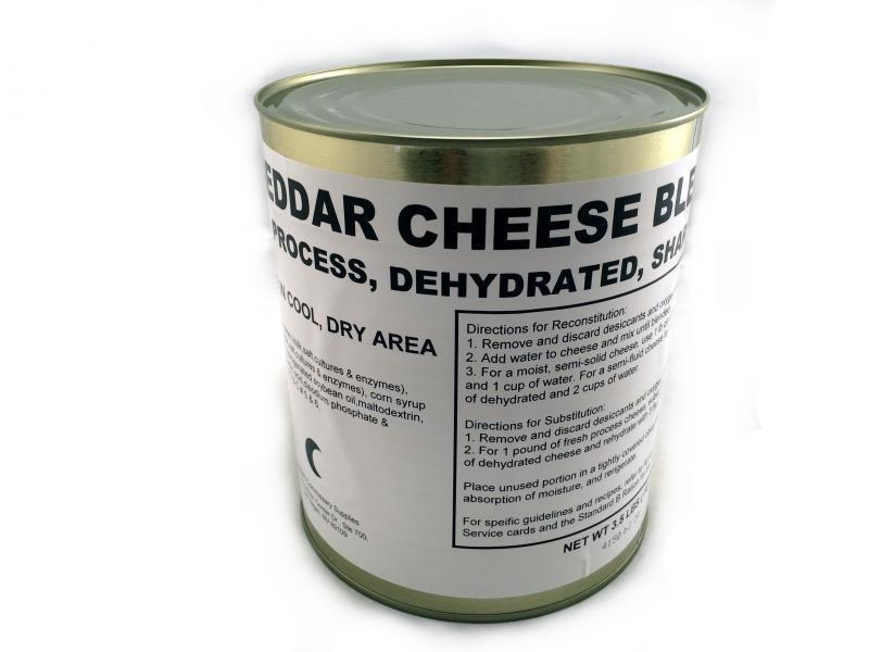 cresc storage Military Surplus Dehydrated Cheddar Cheese Blend