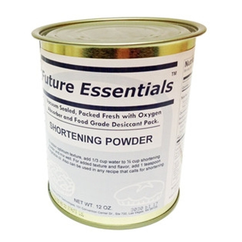 Future Essentials Shortening Powder (Case of 12 cans )