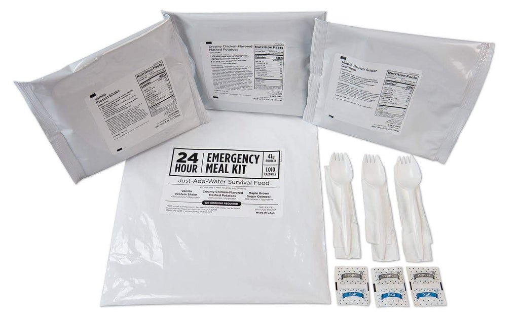 Mayday 12186 24-Hour Emergency Meal Kit, Solution For Individuals In Emergency Situations, 25 year shelf life