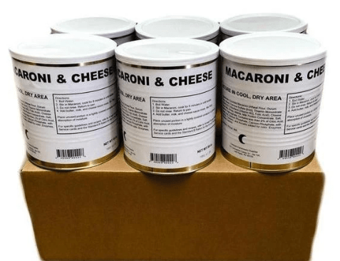 Military Surplus Macaroni and Cheese - Case
