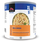 Mountain House Rice and Chicken Freeze Dried Food For Long Term Storage and Emergency Preparedness, Outdoor Camping And Hiking Entree #10 Can 1 Can Clean Label