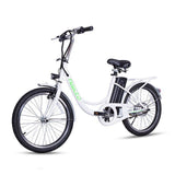 NAKTO ELEGANCE 250W 36V 8Ah City Electric Bike, 22 inch White