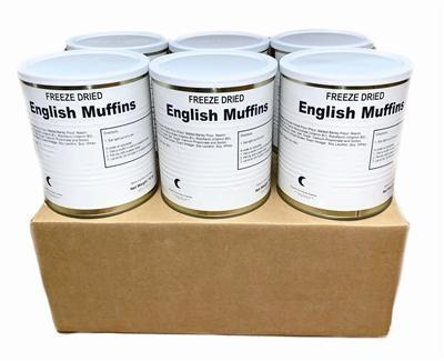 Military Surplus Freeze Dried English Muffins