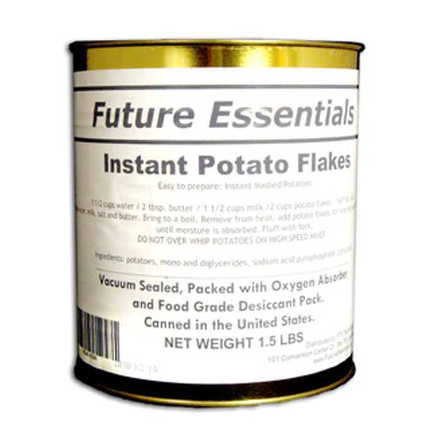 Safecastle Instant Potato Flakes by Future Essentials