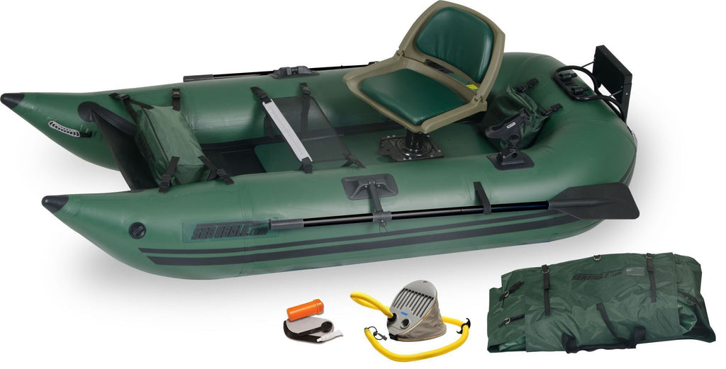 Sea Eagle 285fpb Inflatable Fishing Boat (WaterSnake Motor)