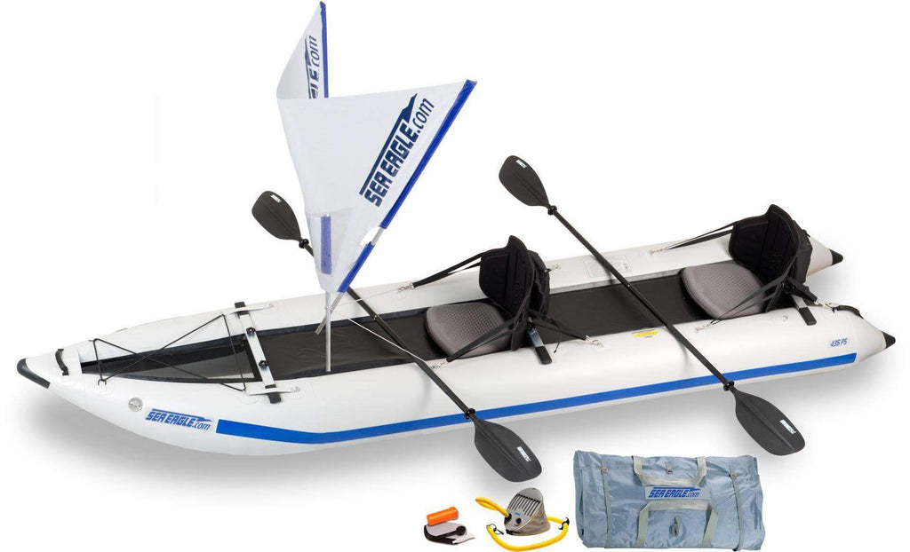 Sea Eagle 435ps Paddleski™ Inflatable Kayak (QuikSail)