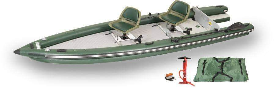 Sea Eagle FSK16 Inflatable Fishing Boat (2 Person Swivel Seat)