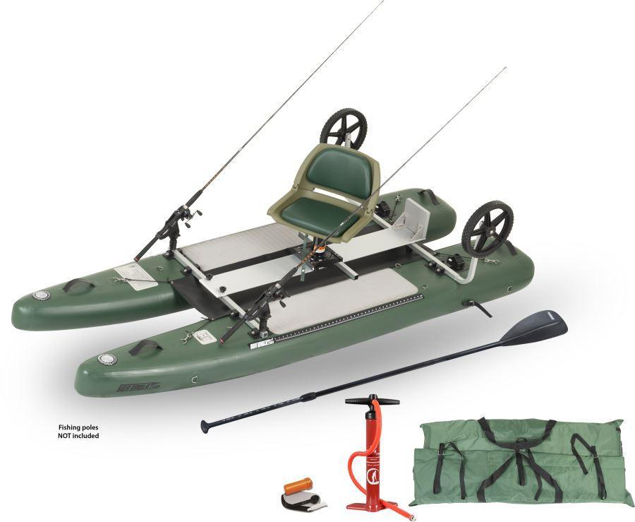 Sea Eagle SUPCat10 Inflatable Fishing Stand-Up Paddleboard (Pro)