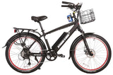 X-Treme Bikes & Fitness X-Treme Santa Cruz 48 Volt High Power Long Range Electric Beach Cruiser Bicycle