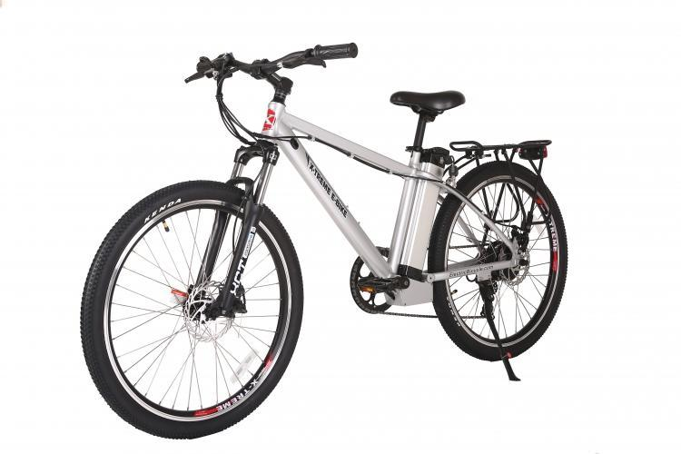 X-Treme Bikes & Fitness X-treme TRAIL MAKER Lithium Powered Electric Mountain Bicycle - Aluminium