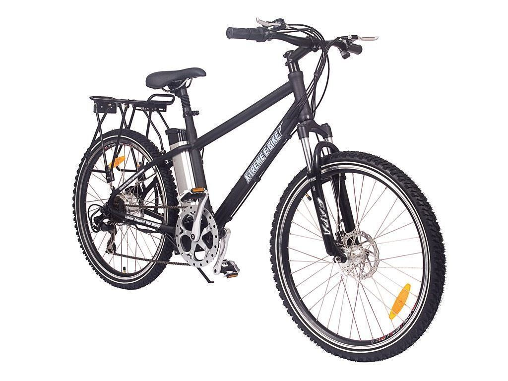 X-Treme Bikes & Fitness X-treme TRAIL MAKER Lithium Powered Electric Mountain Bicycle - BLACK