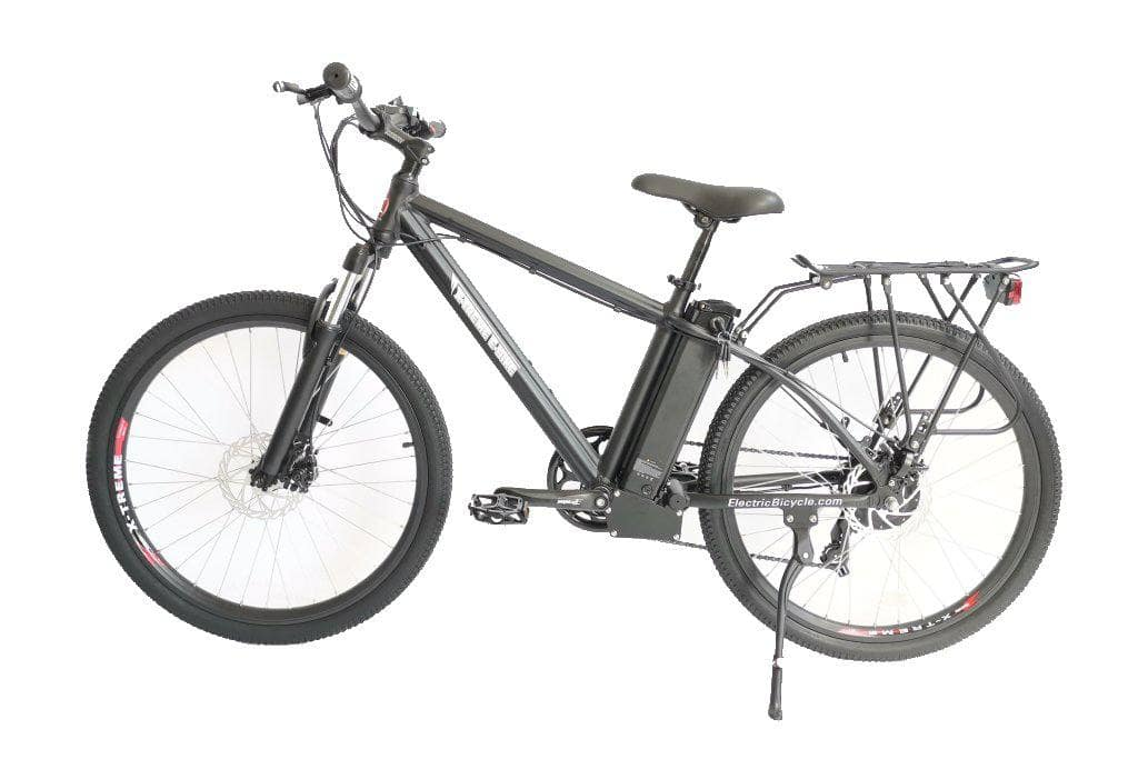 X-Treme TM-36 Electric 36 Volt Mountain Bike-Black