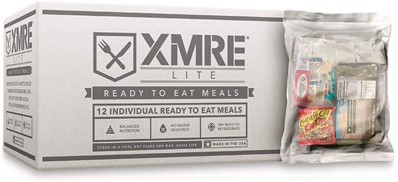 XMRE LITE - 12 Case with No Heaters (MRE)