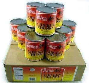 Yoder's  Canned Chicken Chunks Case (12 Cans)