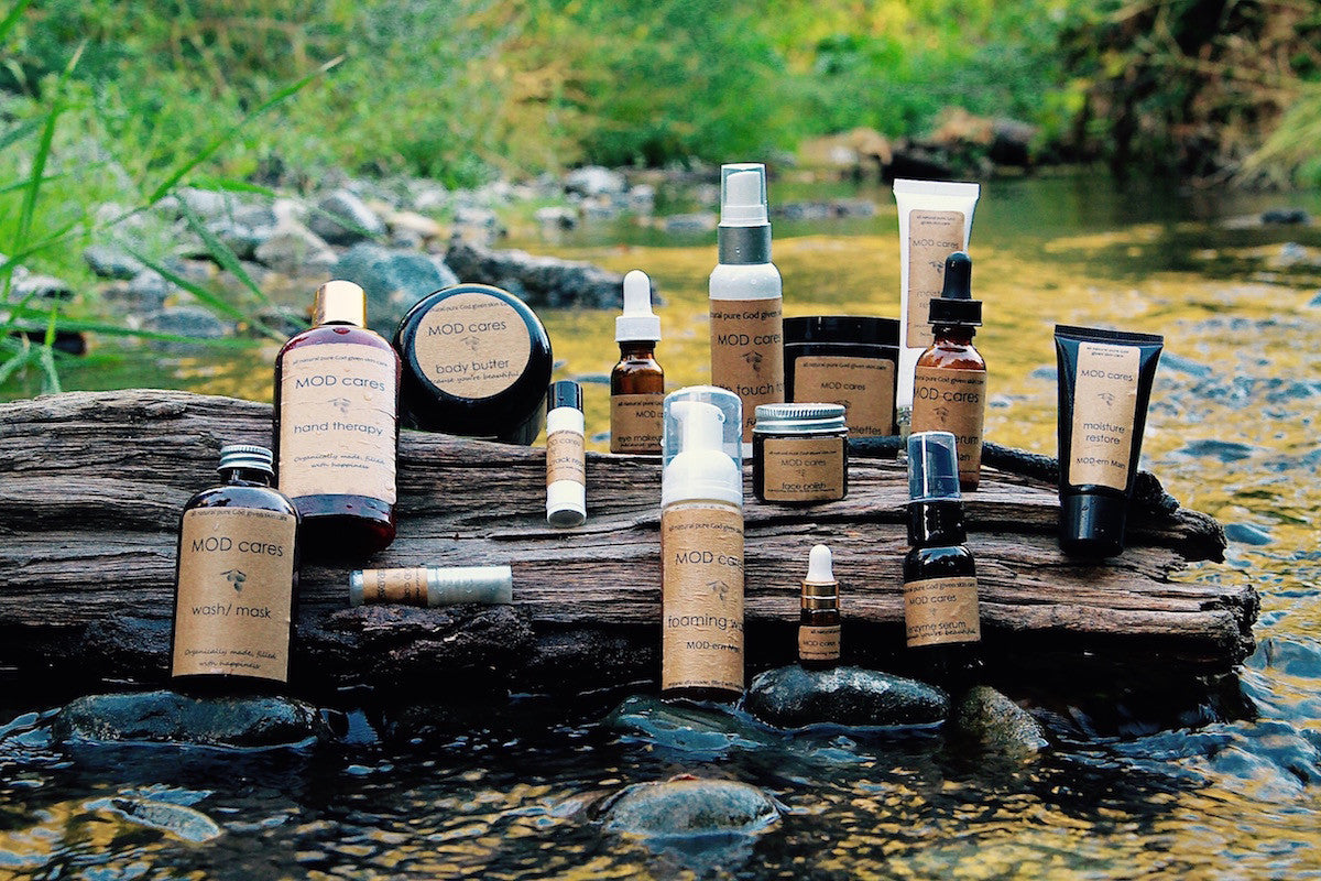God-given skin care. All Natural & Pure.