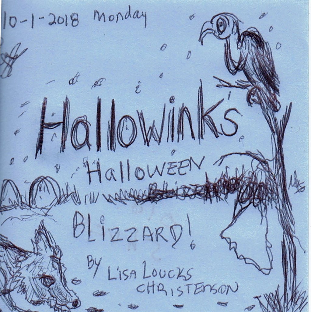 HALLOWINKS HALLOWEEN BLIZZARD: CRYPTID HIDEOUT