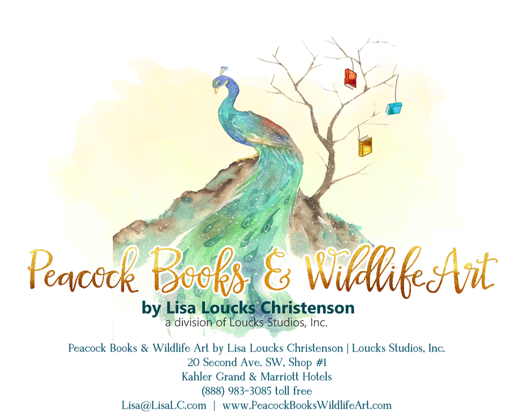 Peacock Books & Wildlife Art Mentioned on Shelf Awareness!