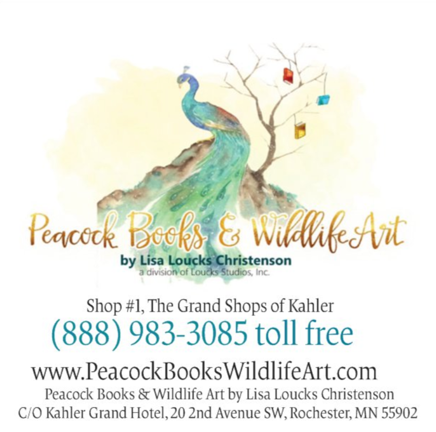 Peacock Books & Wildlife Art by Lisa Loucks Christenson