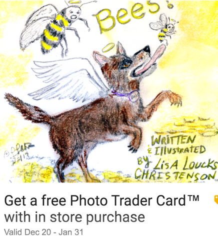 Don't Eat Bees! Release: 12/23/2019 Get a free Photo Trader Card with in-store purchase