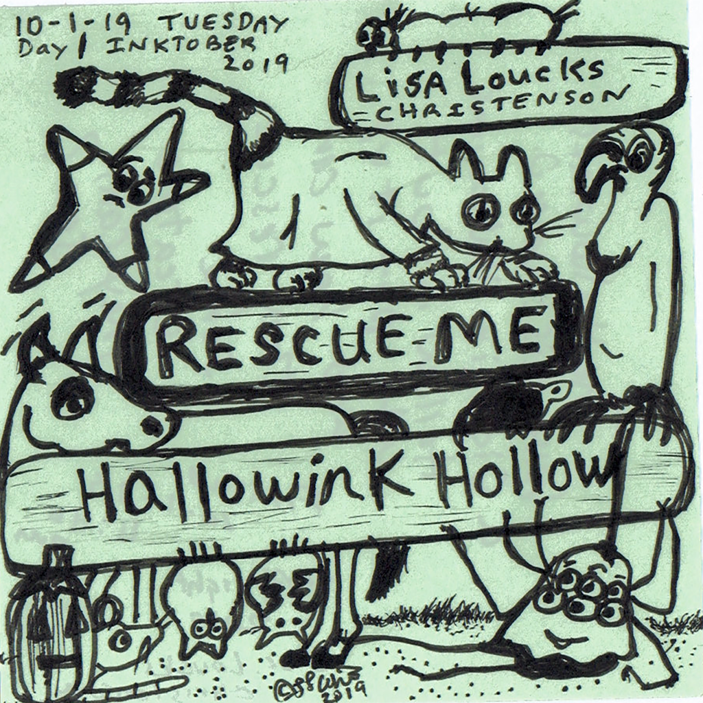 Hallowink Hollow: Rescue Me, Volume 3 Available for Sale