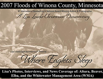 Pre-Order Lisa Loucks-Christenson's, Where Eaglets Sleep: 2007 Floods of Winona County