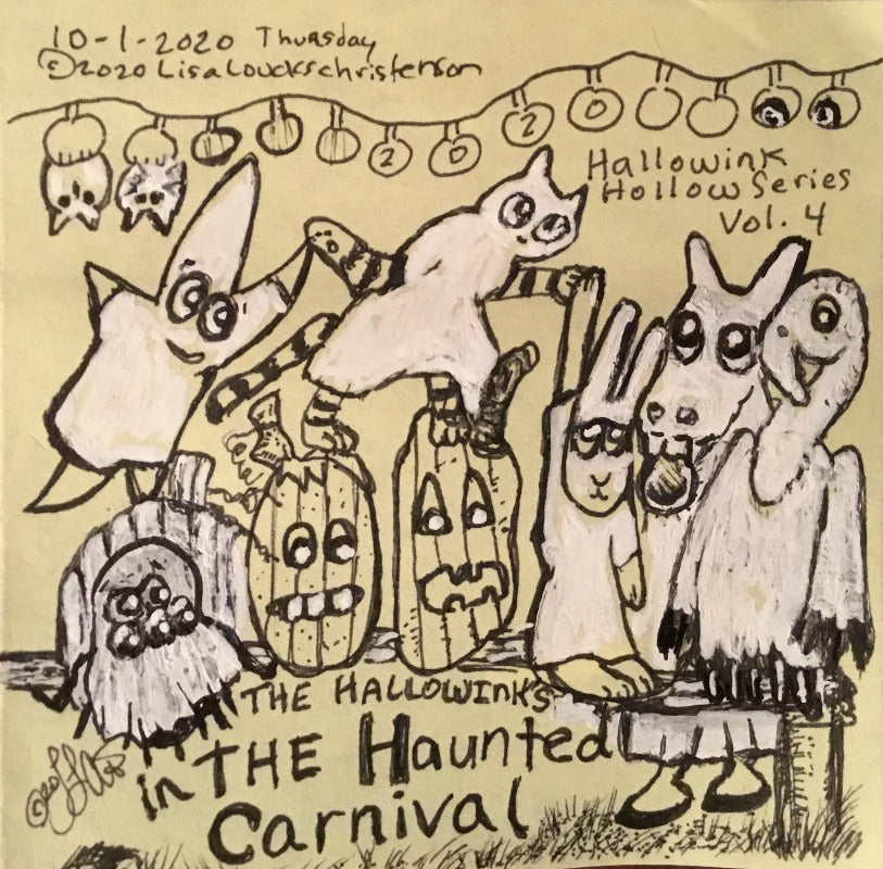 The Hallowink's in the Haunted Carnival, Hallowink Hollow Series, Volume 4
