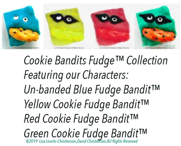 Cookie Bandits Fudge™ Collection