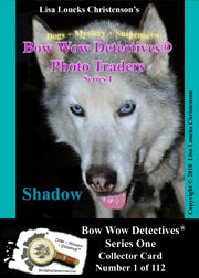 Bow Wow Detectives® Photo Trader Cards