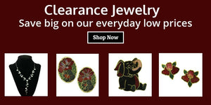 Clearance and Closeout Jewelry, Pins, Earrings, Necklaces, Bracelets