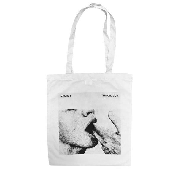 TINFOIL WHITE TOTE BAG