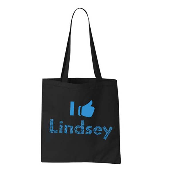 Thumbs Up Shopper Bag
