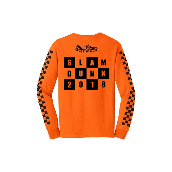 SKA LONG SLEEVE TEE ORANGE