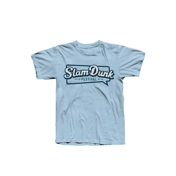 BUBBLE LOGO TEE LIGHT BLUE