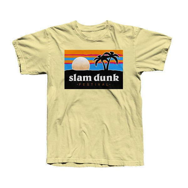 Yellow Haze Palm Beach T-shirt