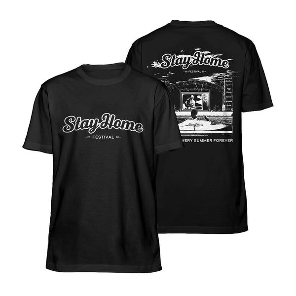ALMOST EVERY SUMMER LIMITED EDITION BLACK TEE