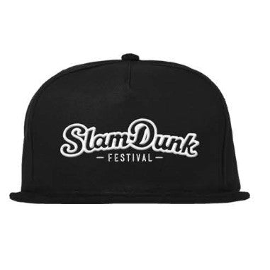 BLACK 3D EMBROIDERED SNAPBACK